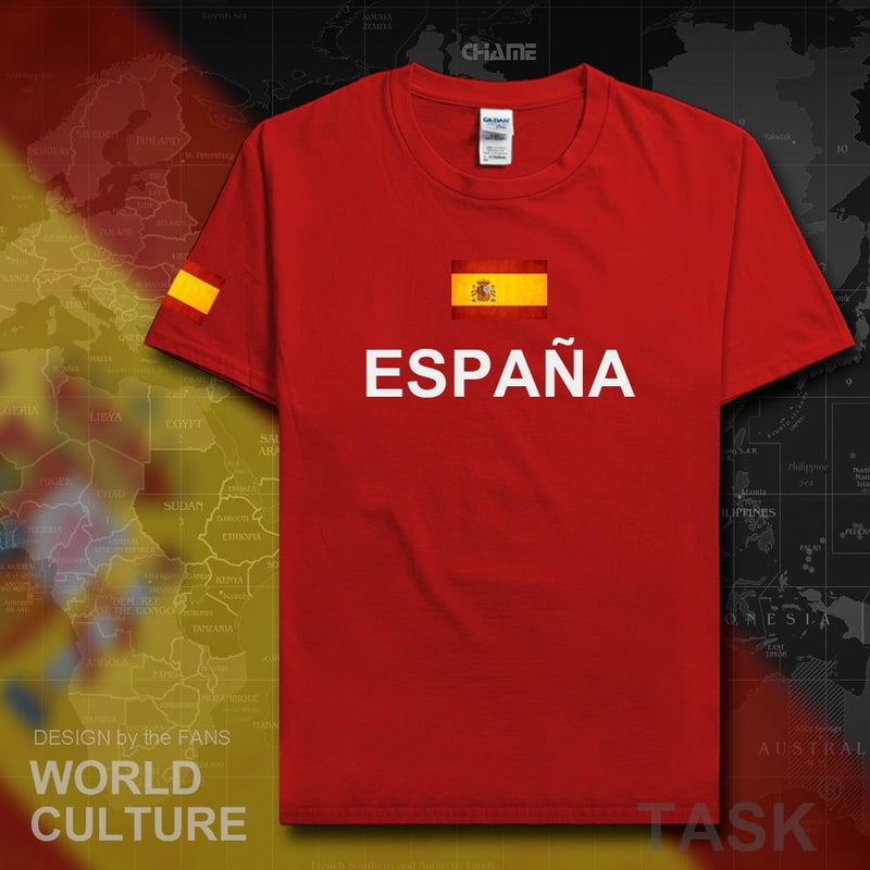World Spain Soccer Material_Cotton Jersey Football Fifa Cup Champion