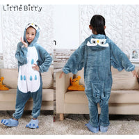 Animals Cosplay Kids Pajamas (Owl, Panda, Cat, Elephant, Tiger, Dinosaur)