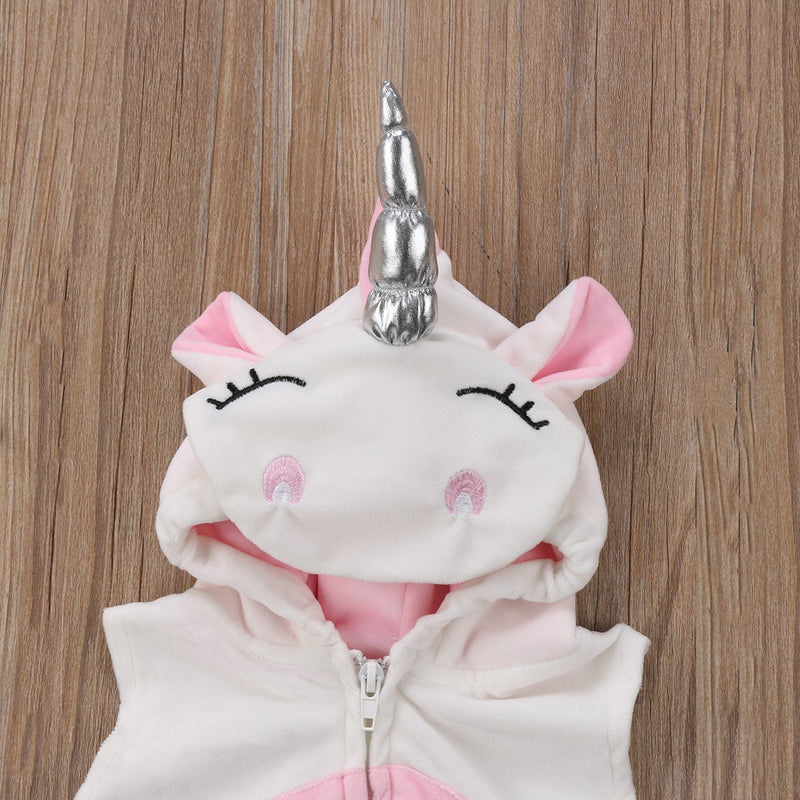 Cute Newborn Baby Unicorn Romper
