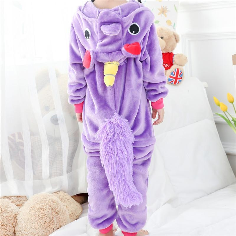 Cute Unicorn Animal Costume Kids Pajama