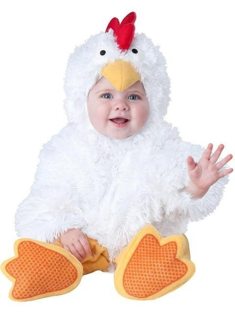 Cute Animal Farm Baby Toddler Halloween Rompers Costume