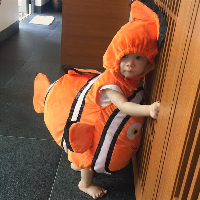 Halloween Kids Finding Nemo Little Fish Dory Costume