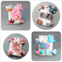 Newborn Hairpin Hair Girls Cute Clips Bow Accessories