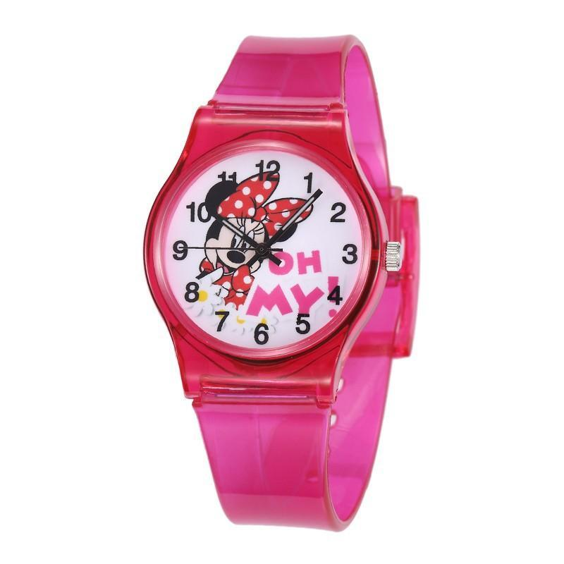 Girls Boys Kids Silicon Cute Cartoon Mouse Minnie Mickey Kitty Hello
