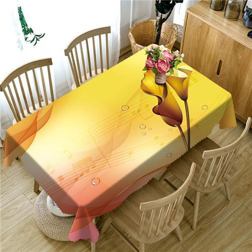 Color of Dream 3D Table Cloths