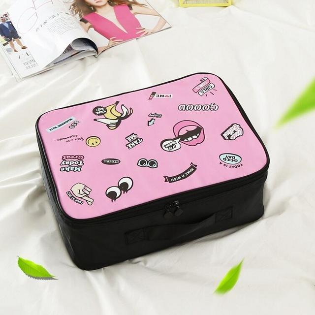 Travel Cosmetic Supplies Organizer