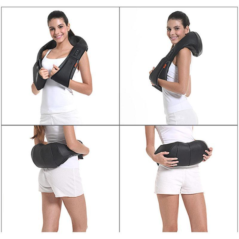 Speed Control Tissue Shoulder Shiatsu Neck Body Neck Massager Massage Kneading Holiday Gift Acupuncture