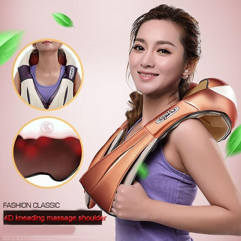 Tissue Speed Control Shoulder Shiatsu Neck Material_Fur Massager Massage Kneading Holiday Gift Body Age