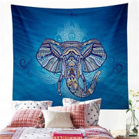 Yoga Wall Hanging Wall Meditation Mandala Indie Indian Home Hippie Elephant Decorations Boho Bali