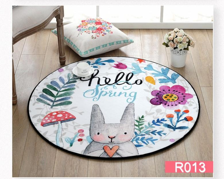 Spring Theme Easter Room and Door Mat