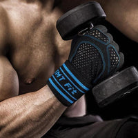 Lifting Active Anti Sweat Training Workout Biker Gym Sport Adjustable Mitten