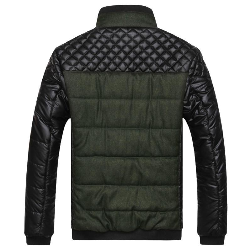 Casual Guy Winter Patched Jacket