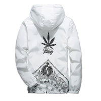 School Casual Cool Style Hood Street Cannabis Weed Joint Sport