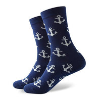 Winter Warm Travel Socks High Quality Cute Cotton Cool Anchor