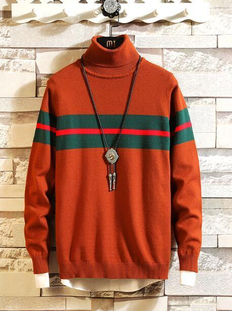 Winter in Colorado Cashmere Sweater for Men