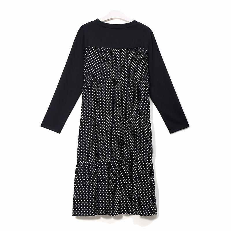 Polka Dot Oversized Parisian Dress