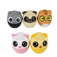 Wireless Speaker Sound Panda Kids iPhone High Quality High Dog Cute Bluetooth Audio Animal
