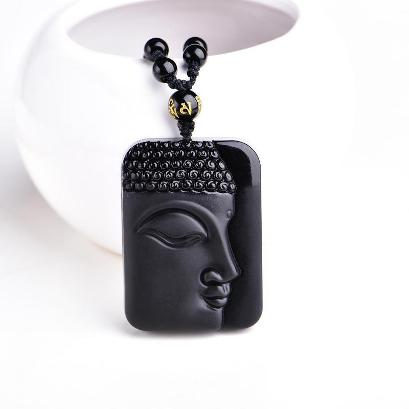 Meditation Yoga Charm Beads Prayer Cute Necklace Lucky Happiness prosperity Buddha