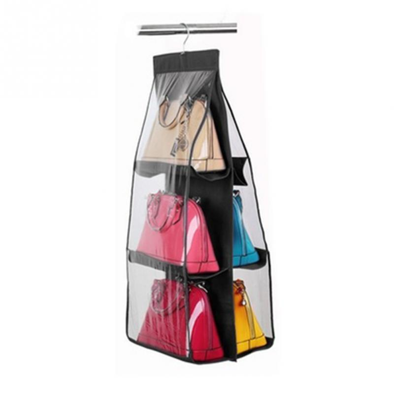 Bag & Closet Hanging Storage (6 Pockets )