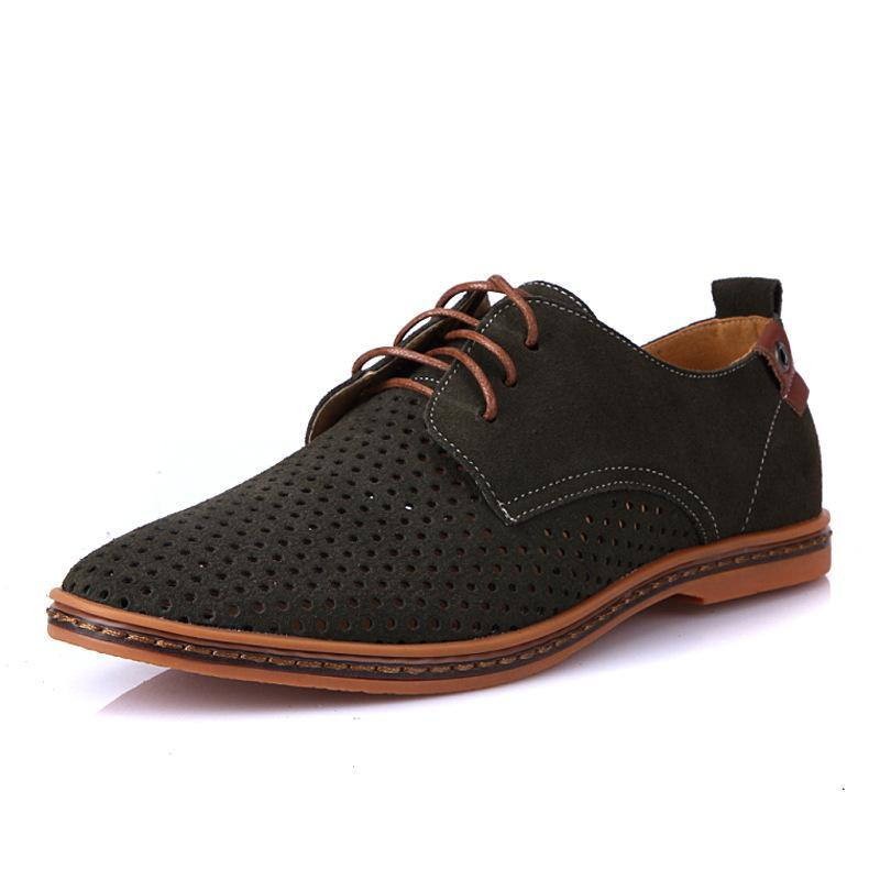 British Man Oxfords Suede Shoes