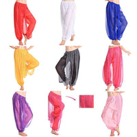 Gypsy Harem Lace Pants Material_Polyester Material_Nylon Material_Cotton Dancer Belly Arabic