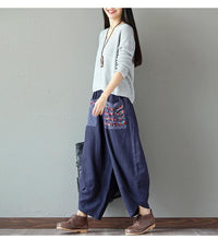 Japanese Indian Boho Style Free Travel Gypsy Pants Harem Pantaloon
