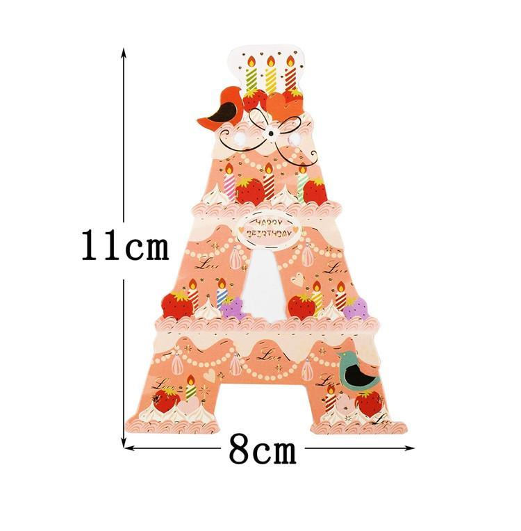 Paper Happy Birthday Funny Decoration Cute Cartoons Banner