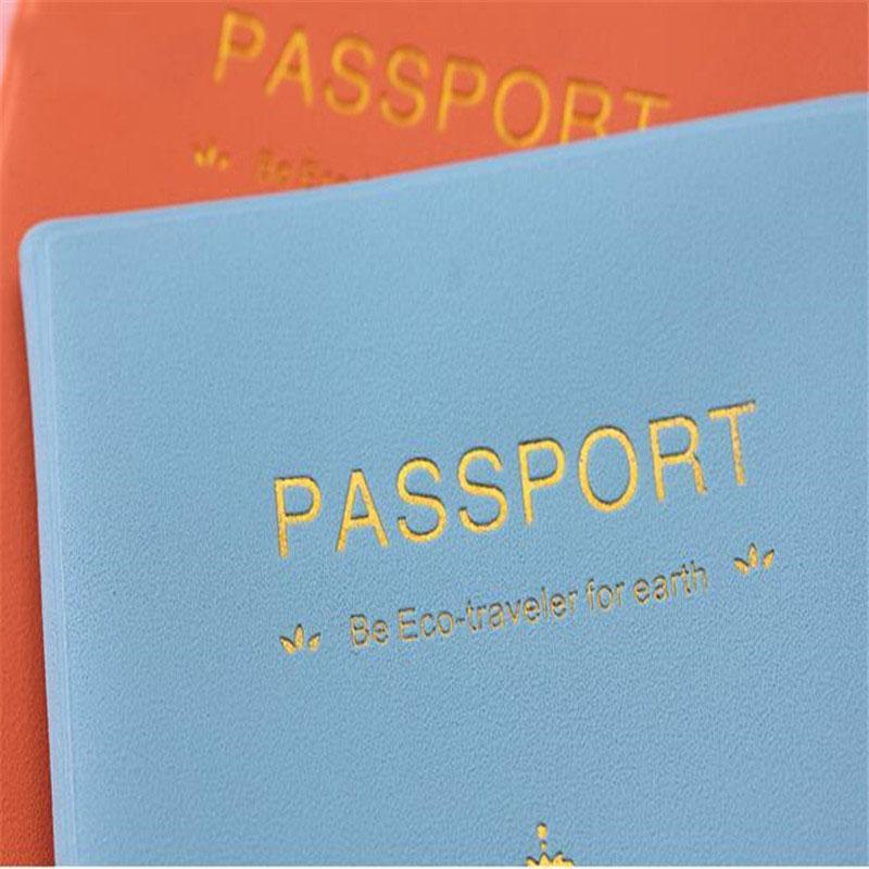 Cute and Fancy Travel Passport Holder Cover
