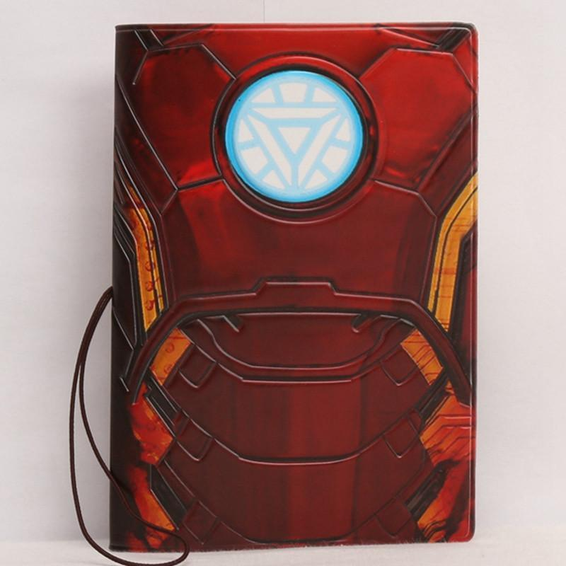 Super Hero Passport Holder Case