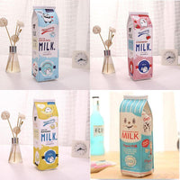 Supplies School Makeup Pencil Boys Girls Kids Milk Cute Cartoon