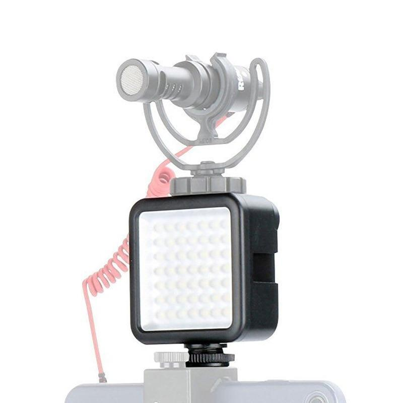 Easy Portable iPhone Battery Studio Phone LED Light Camera