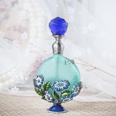 Antique Style Empty Glass Oil, Perfume Bottle