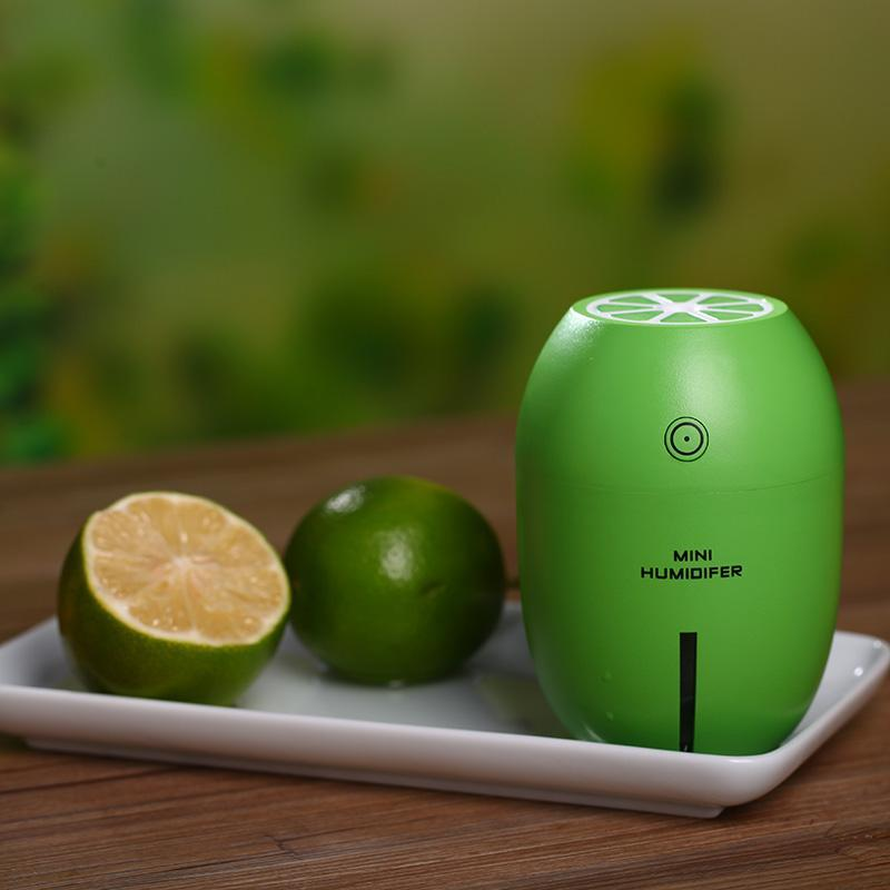 Aromatic Aromatherapy Essential Oil Pure Air Freshener Ultrasonic Humidifier Diffuser Green