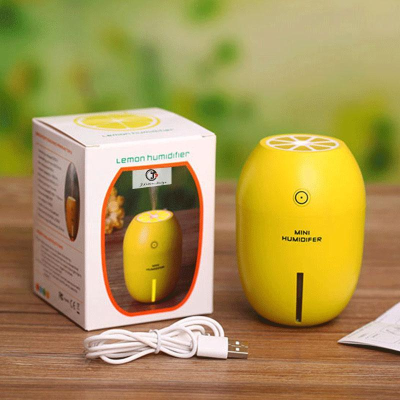Aromatic Aromatherapy Essential Oil Pure Air Freshener Ultrasonic Humidifier Diffuser Yellow