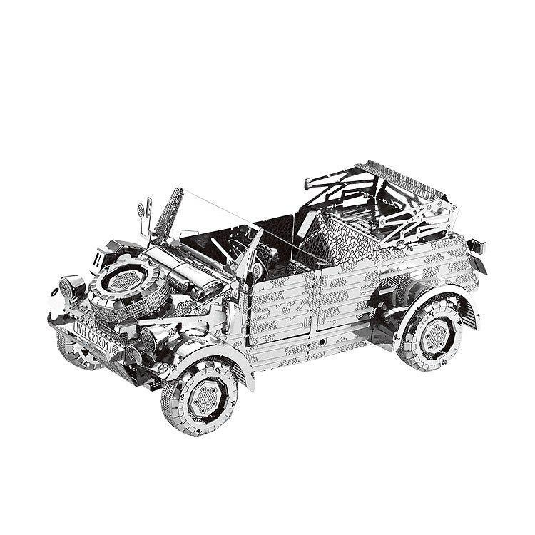 Mini 3D Metal Old Collection Cars Puzzle