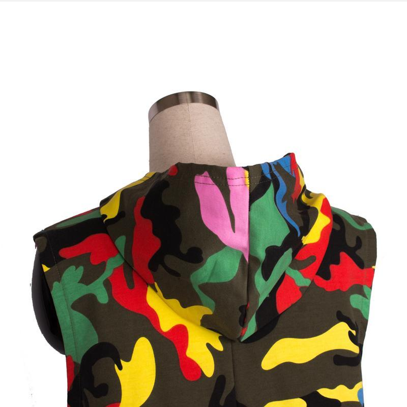 Camouflage Hip Hop Dance Jumpsuit