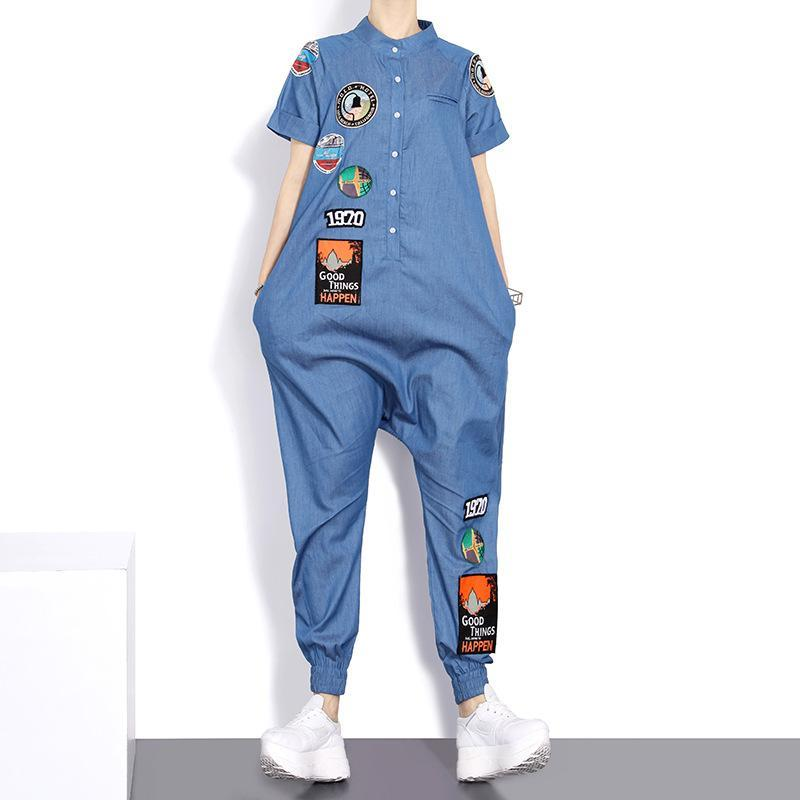 Happy Street Denim Jumpsuit