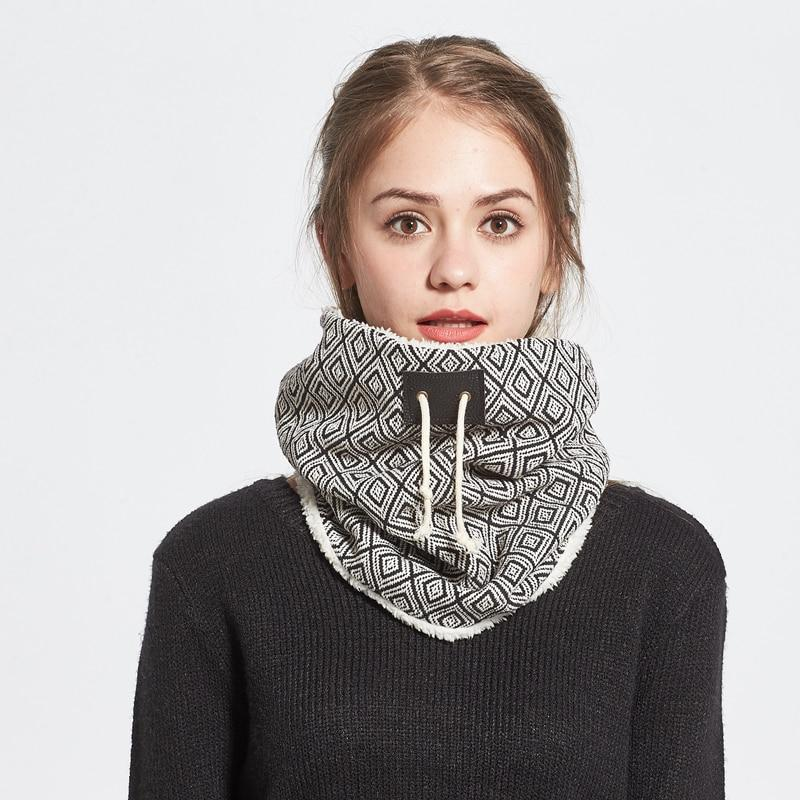 Winter Holiday style Neck Warmer Scarf