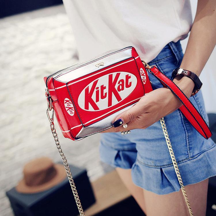 Characters Shoulder Bag Yummy Funny Kit Kat Party Cute
