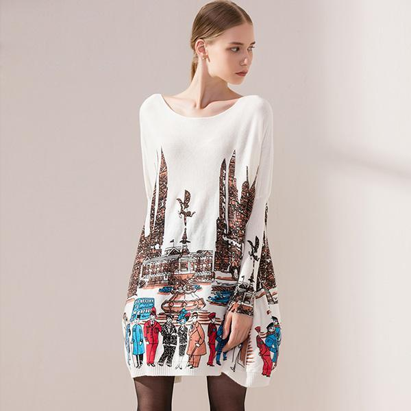 Dream City Long Sweater