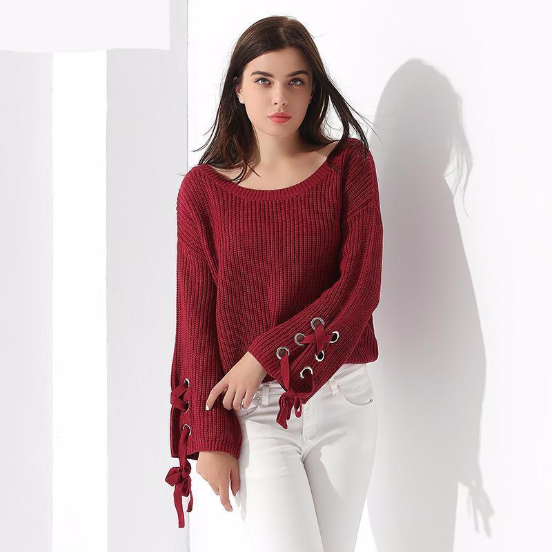 Winter Warm Style Thick Sweater Pullover Loose Knitted Fashion Autumn