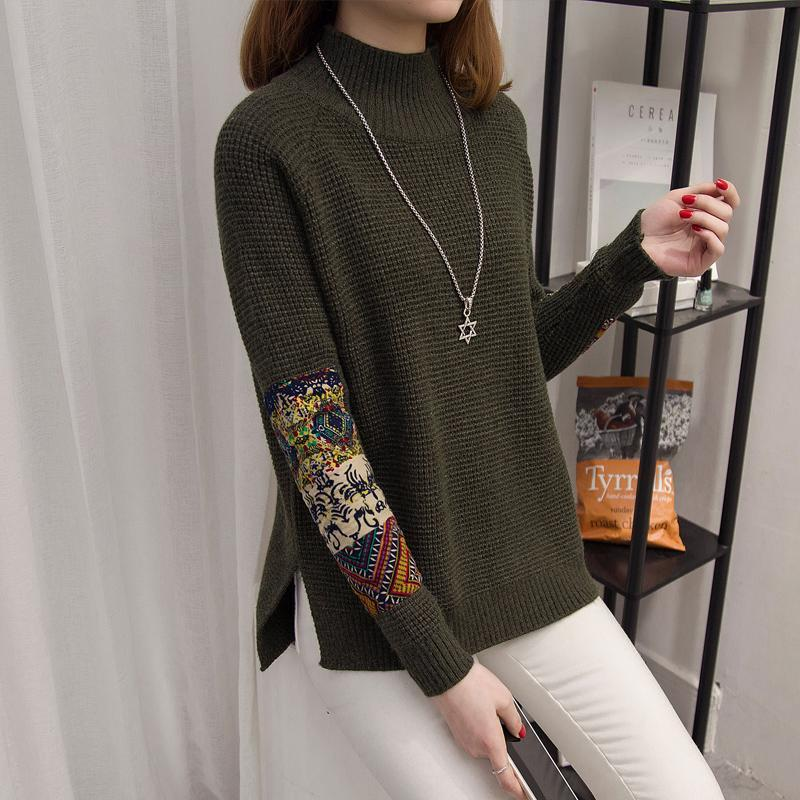 Winter Woman Boho Sweater