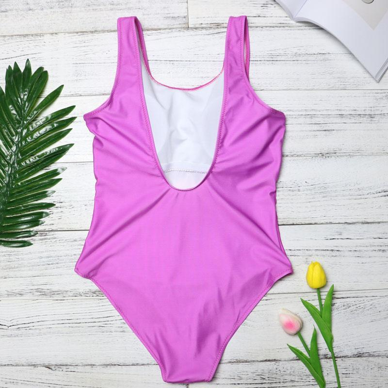 Tropical Ice Cream Fun One Piece Body Swimsuits