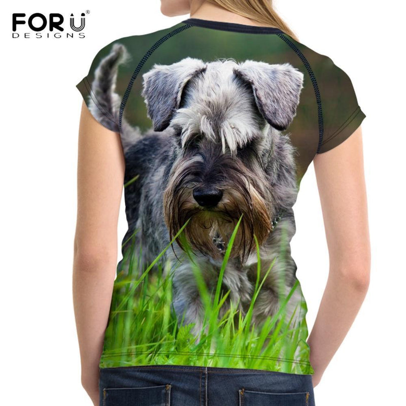 Dog Lover 3D Printed T Shirt