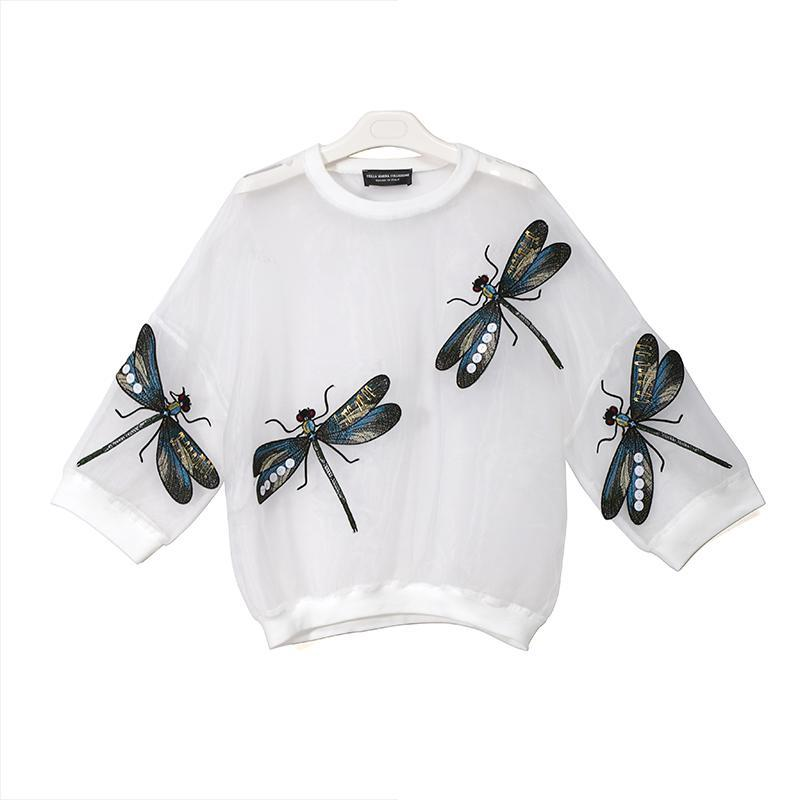 Dragonfly Transparent Blouse