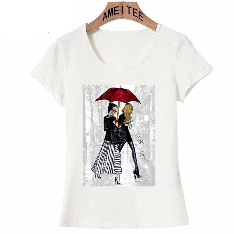 Love Paris Streets Fashion T-Shirts
