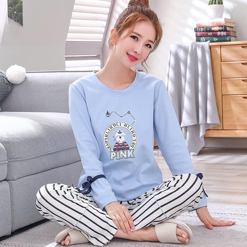 Cute Animal Print Pajama Sets