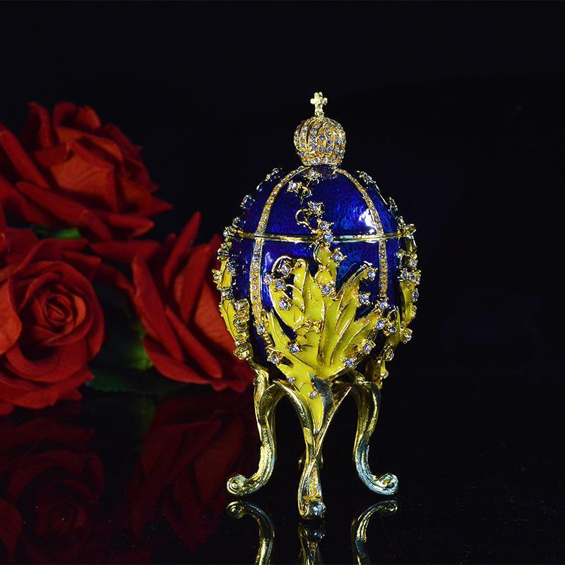 Egg Trinket Jewelry Box