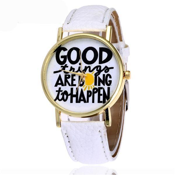"Positive Thinking ""Good Things are Going To Happen"" Watch"