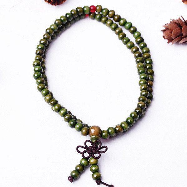 Style Necklace Indian Chain Buddha Boho Beads